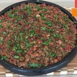 Kiremitte Arap Kebabı