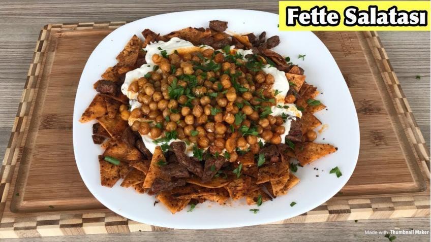 Fette Salatası Tarifi