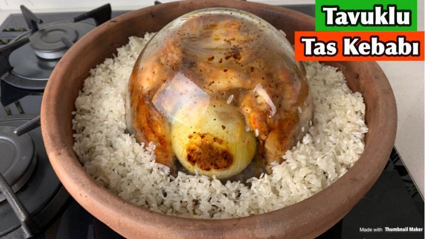Tavuklu Tas Kebabı Tarifi