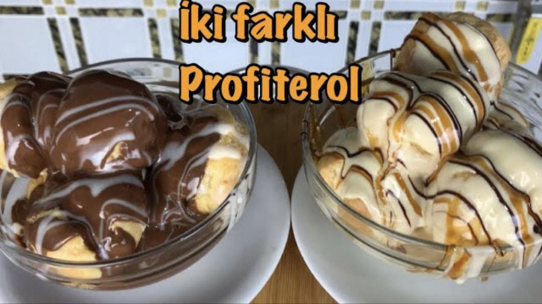 2 FARKLI PROFİTEROL TARİFİ